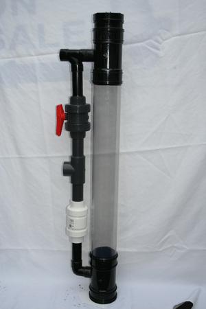 Fluid bed sand filter from dock koi ltd fluidized bed for Koi pond sand filter