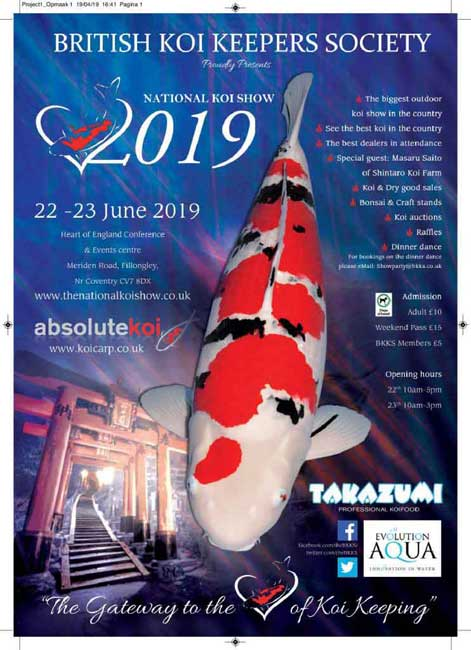 KOI SHOWS 2019