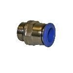 "BSP stud connector 5/8"" male thread."