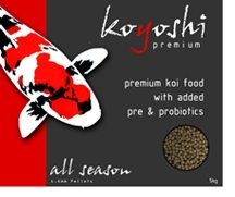 Koyoshi All Season Koi Food 2kg bucket